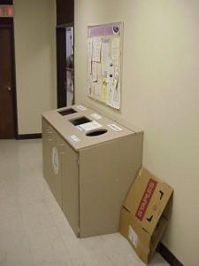 Hamilton Hall Recycling