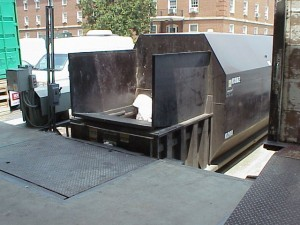 Compactor From Dock