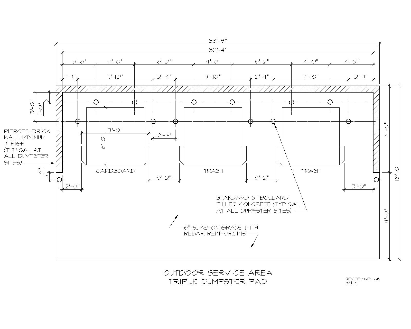 Waste Handling Details Amp Drawings Facilities Services