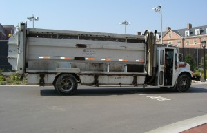 Outdoor Recycling Truck
