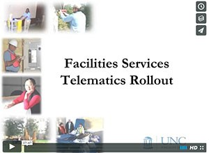 Facilities Services Telematics Rollout Video Still