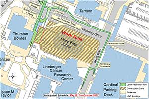 Mary Ellen Jones Construction Map