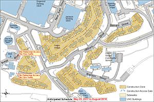 Odum Village Demolition Map