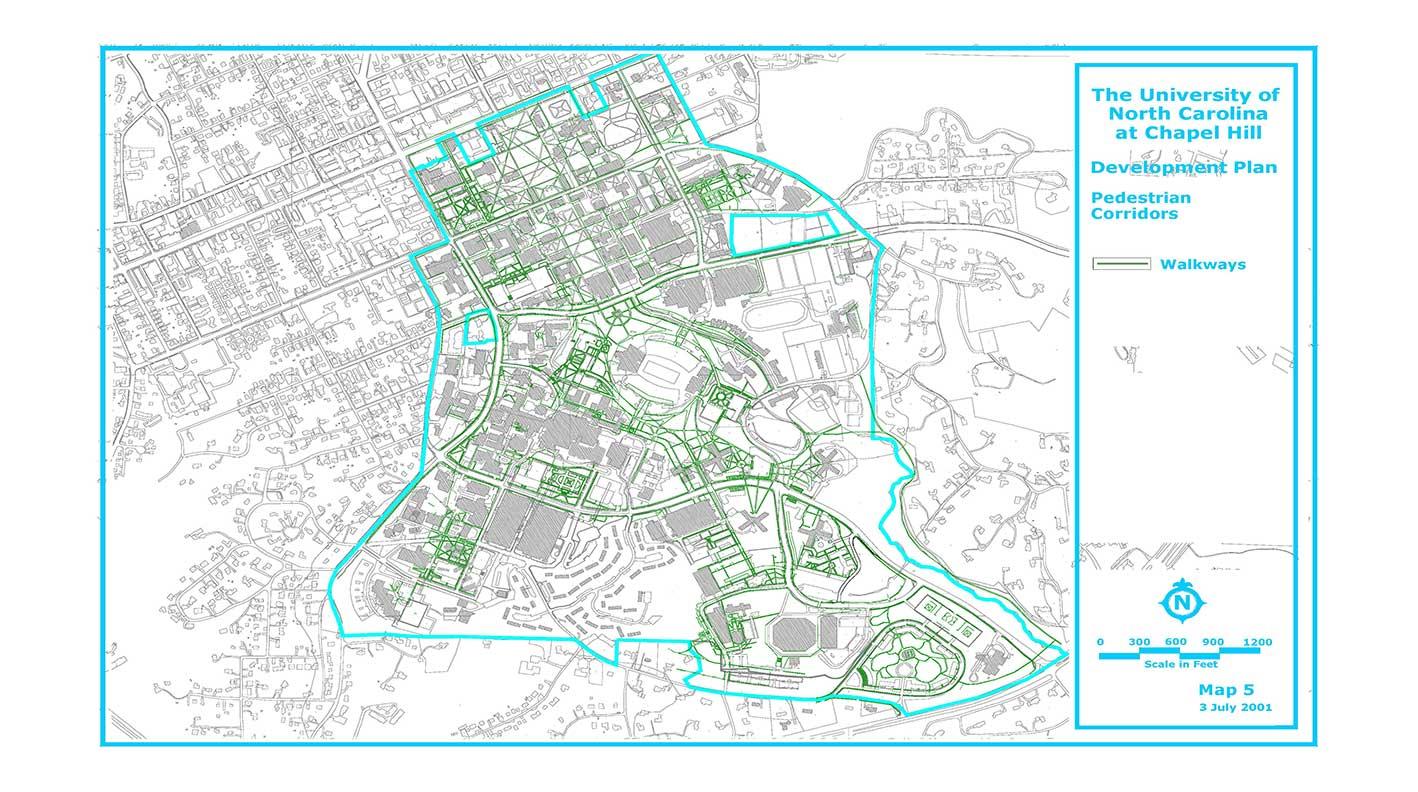 Development Plan: Pedestrian Corridors
