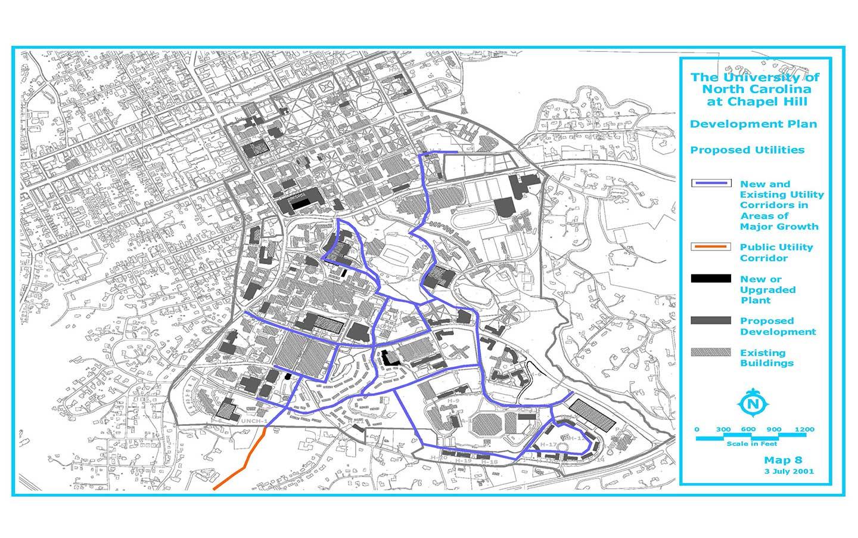 Public Utilities Map