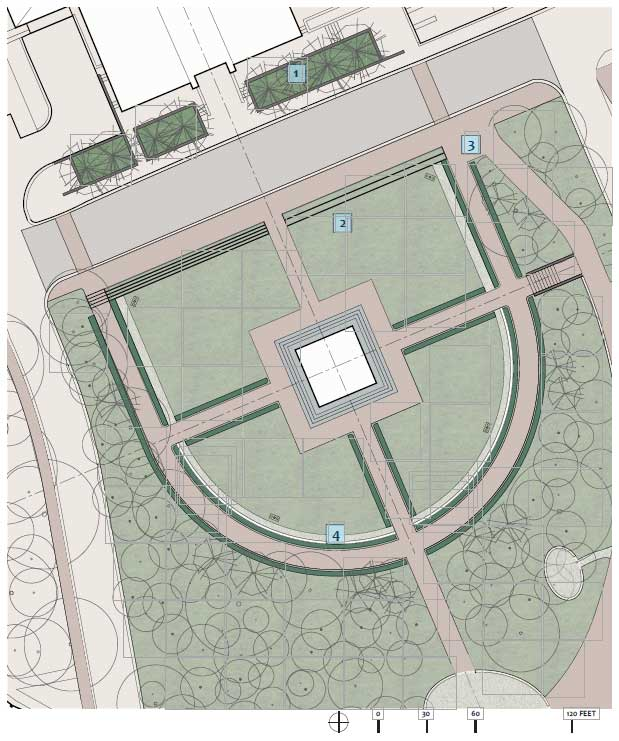 Bell Tower Illustrative Site Plan