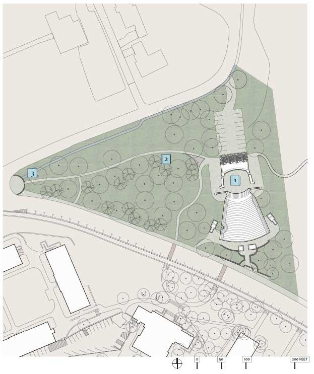 Forest Theatre Illustrative Site Plan