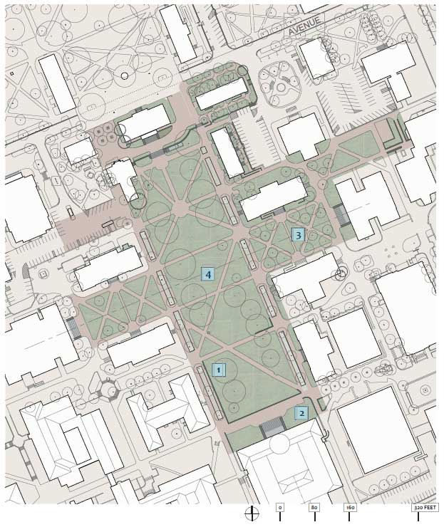 Polk Place Illustrative Site Plan
