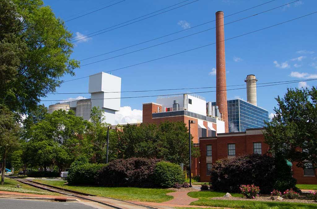 Cogeneration Facility on Cameron Avenue