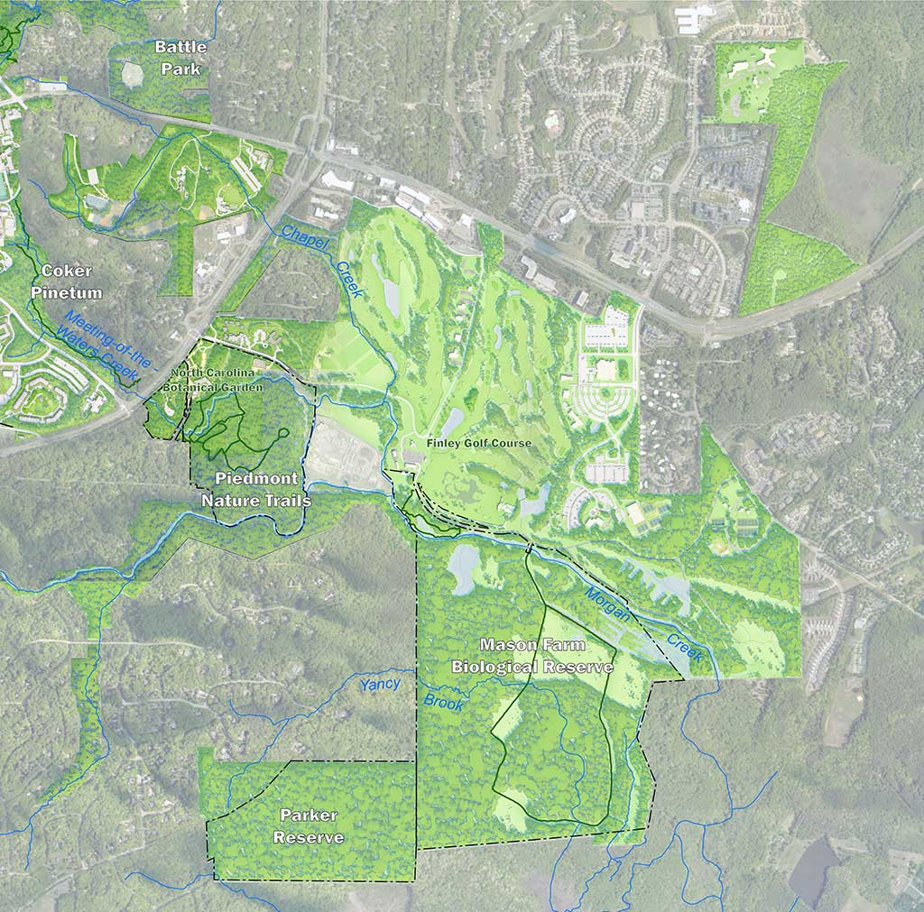 Mason Farm Tract Existing Conditions Map