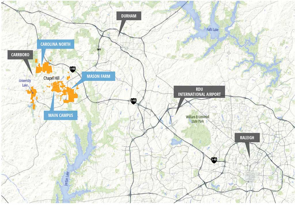 Regional Context Map