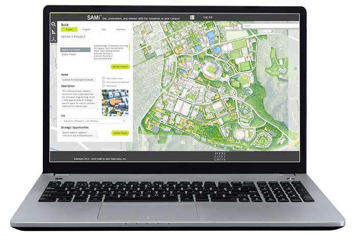 SAMi Integrated Planning Tool Interface