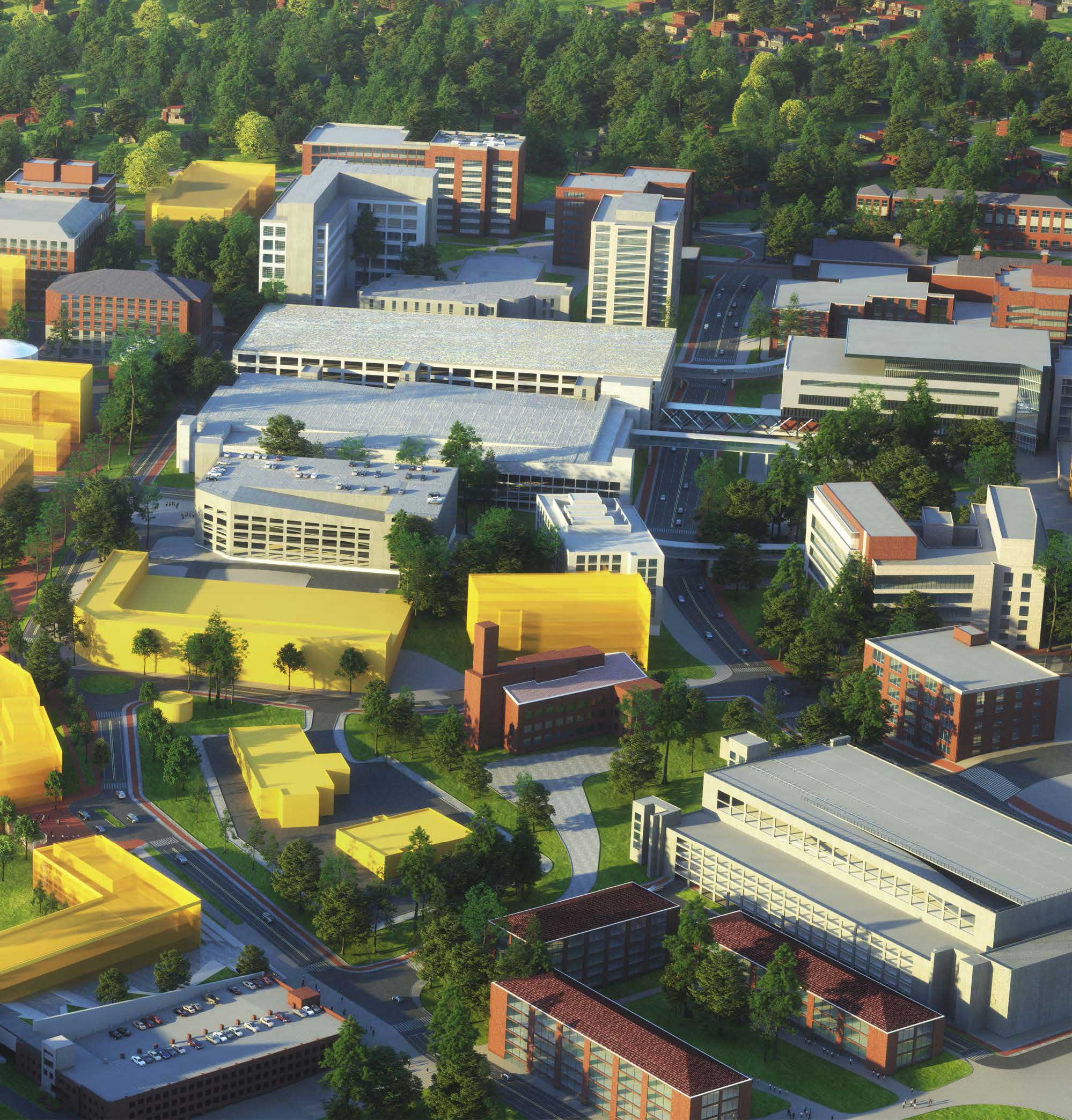 Campus South Hub Aerial View (Part 2)