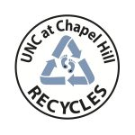 UNC at Chapel Hill Recycles Logo
